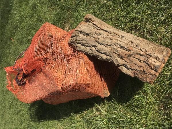 1 Sack Smoker-Holz Eiche (kammergetrocknet) 10 kg / 25dm³