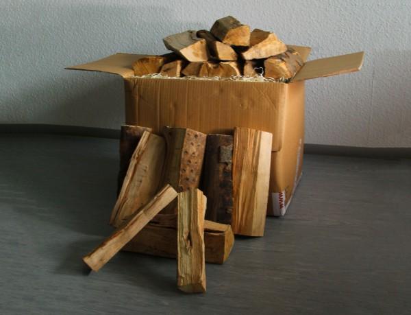 1 Box Kaminholz Buche trocken 29cm, 30kg