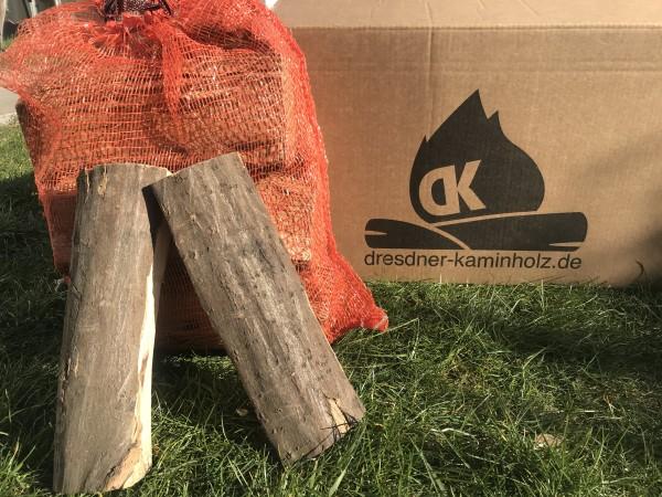 1 Box (30kg) Kaminholz Buche trocken (kammergetrocknet) 29cm